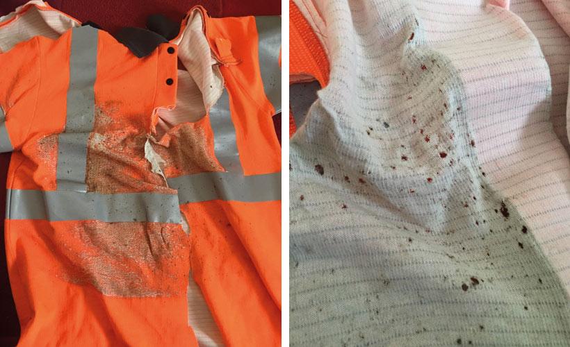 Arc Flash Incident Shirt Image