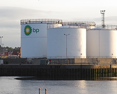 BP fuel storage terminal