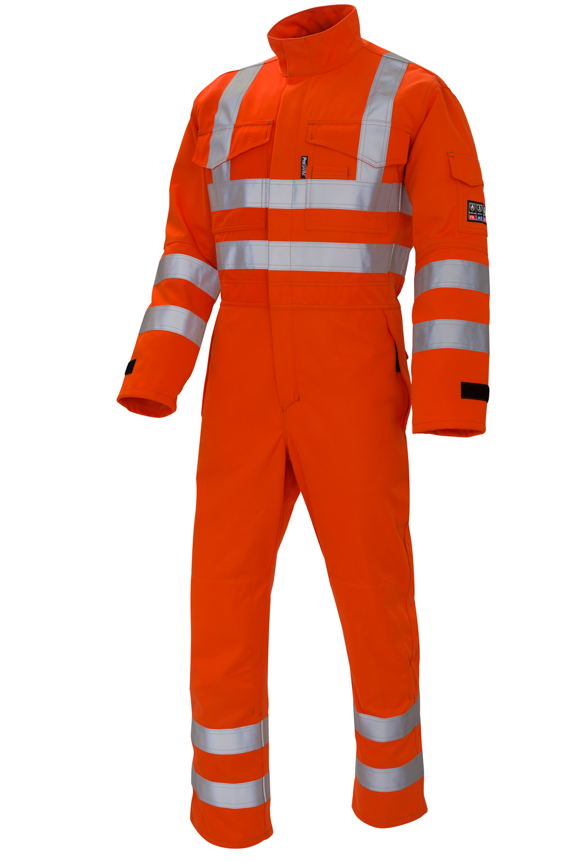 ProGARM 4690 ARC COVERALL hi vis orange   RIS Compliant