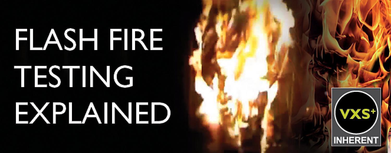 Flash Fire Testing