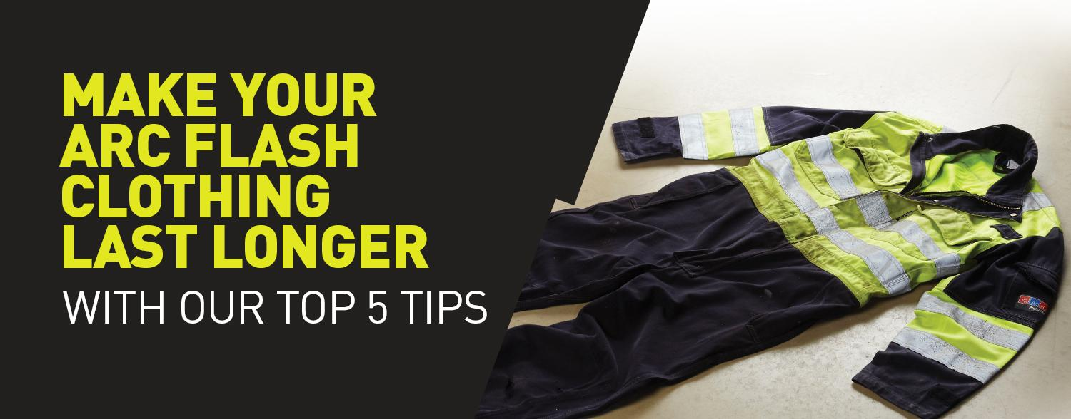 Five ways to look after your Arc Flash garments