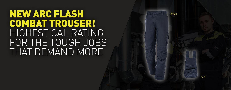 New 7720 Arc Flash combat trouser – Practical Arc Flash protection