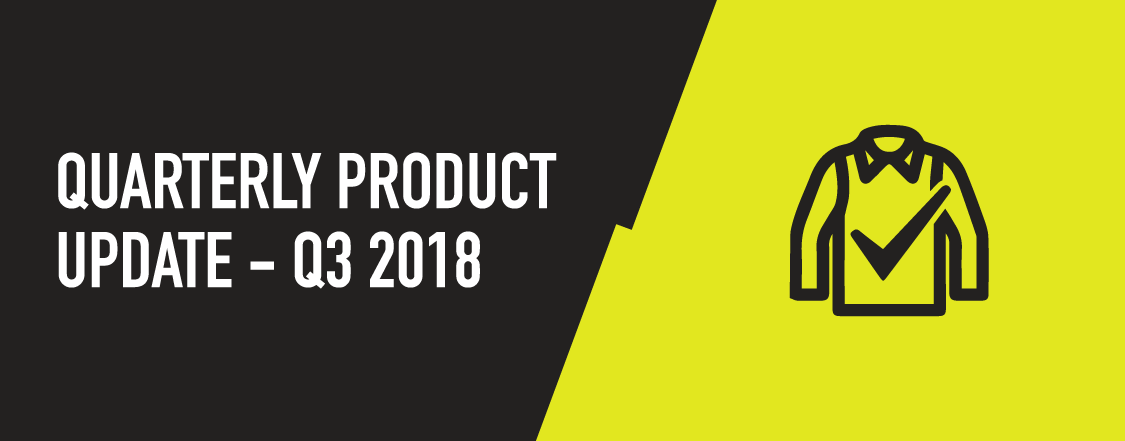 ProGARM Quarterly Product Update – Q3, 2018